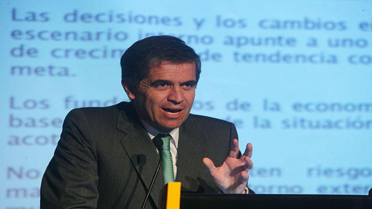Presidente del Banco Central expresa satisfacción por resultados de IPC e Imacec