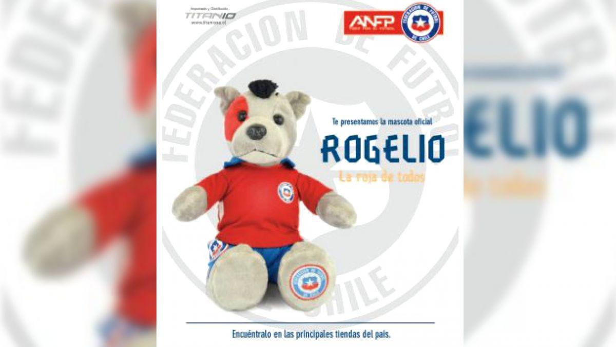 Rogelio, la mascota oficial de la selección chilena