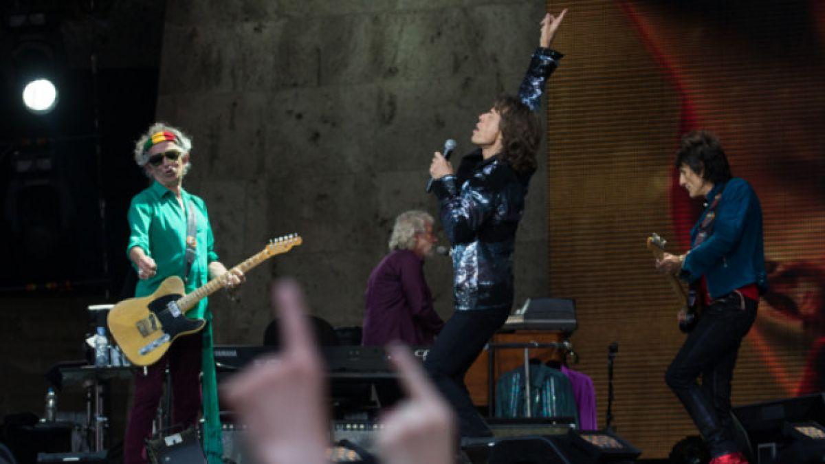 Gira sudamericana de los Rolling Stones empezaría en Chile