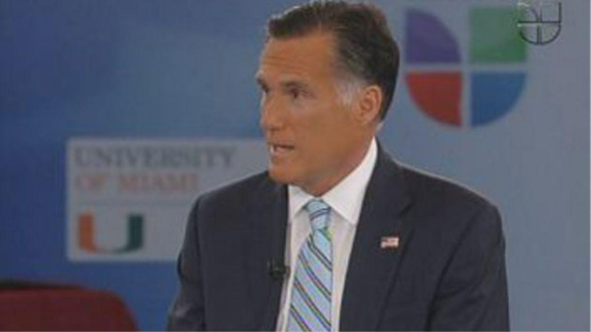 Mitt Romney busca el respaldo latino