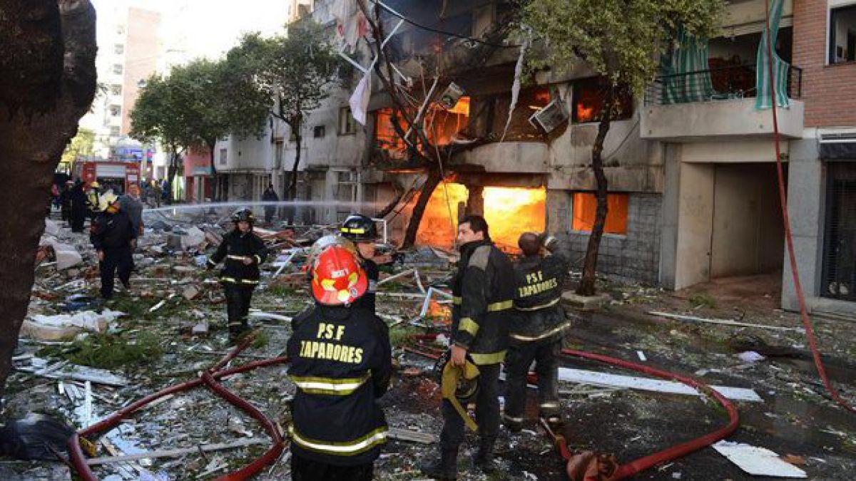 A 8 aumentan los muertos tras explosión en Rosario