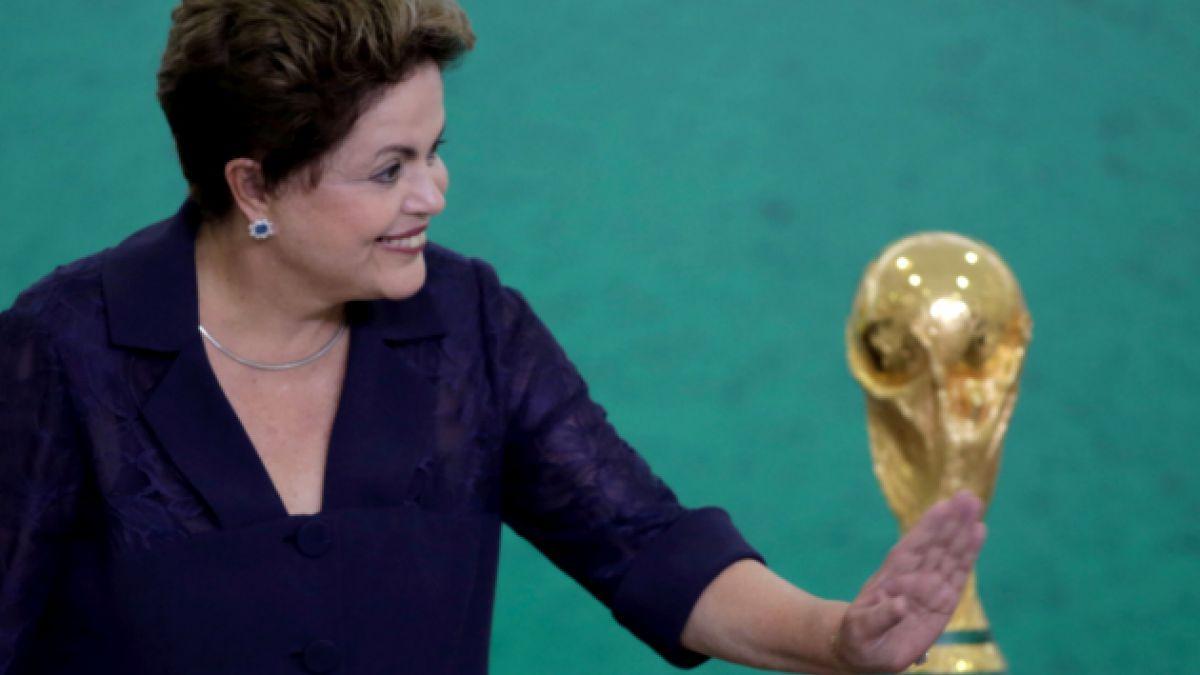 Presidenta de Brasil rechaza críticas por el mundial de fútbol