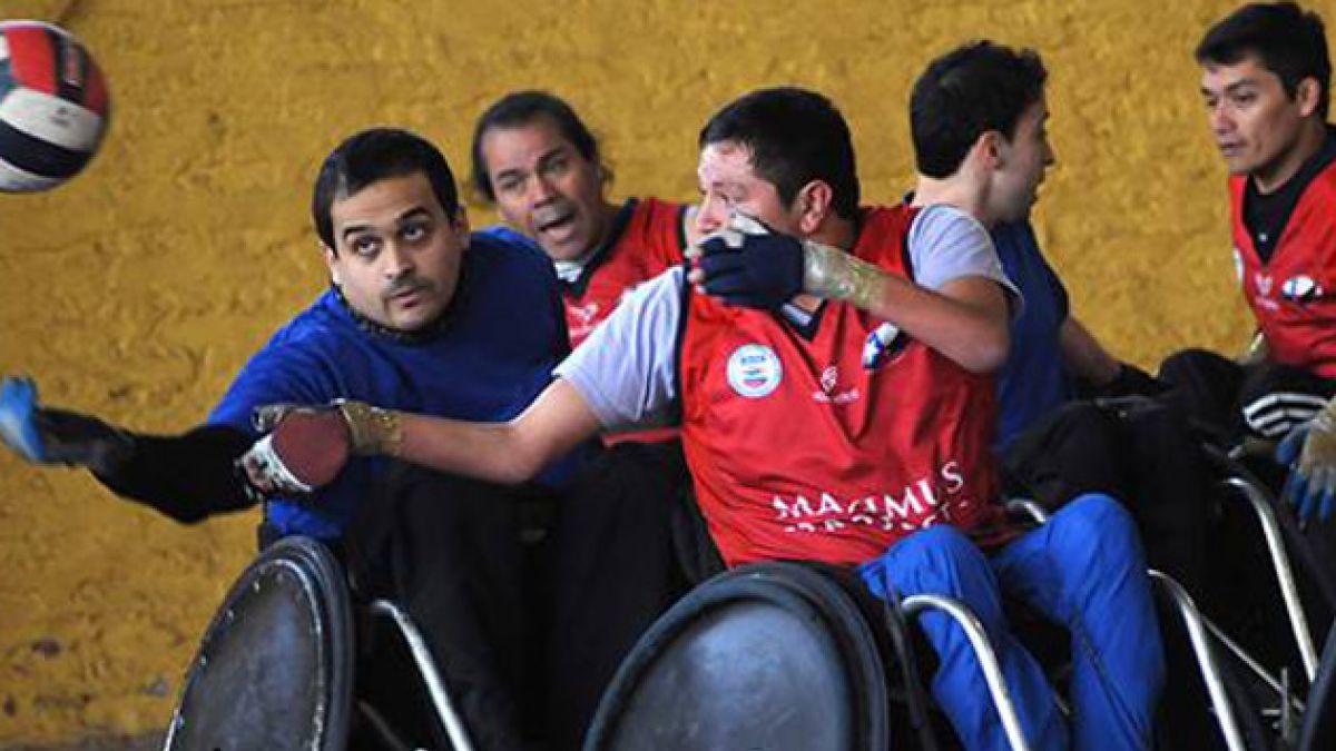 Chile clasifica por primera vez en rugby en silla a unos Juegos Parapanamericanos