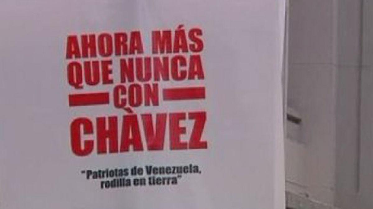 Piden orar por la salud de Hugo Chávez