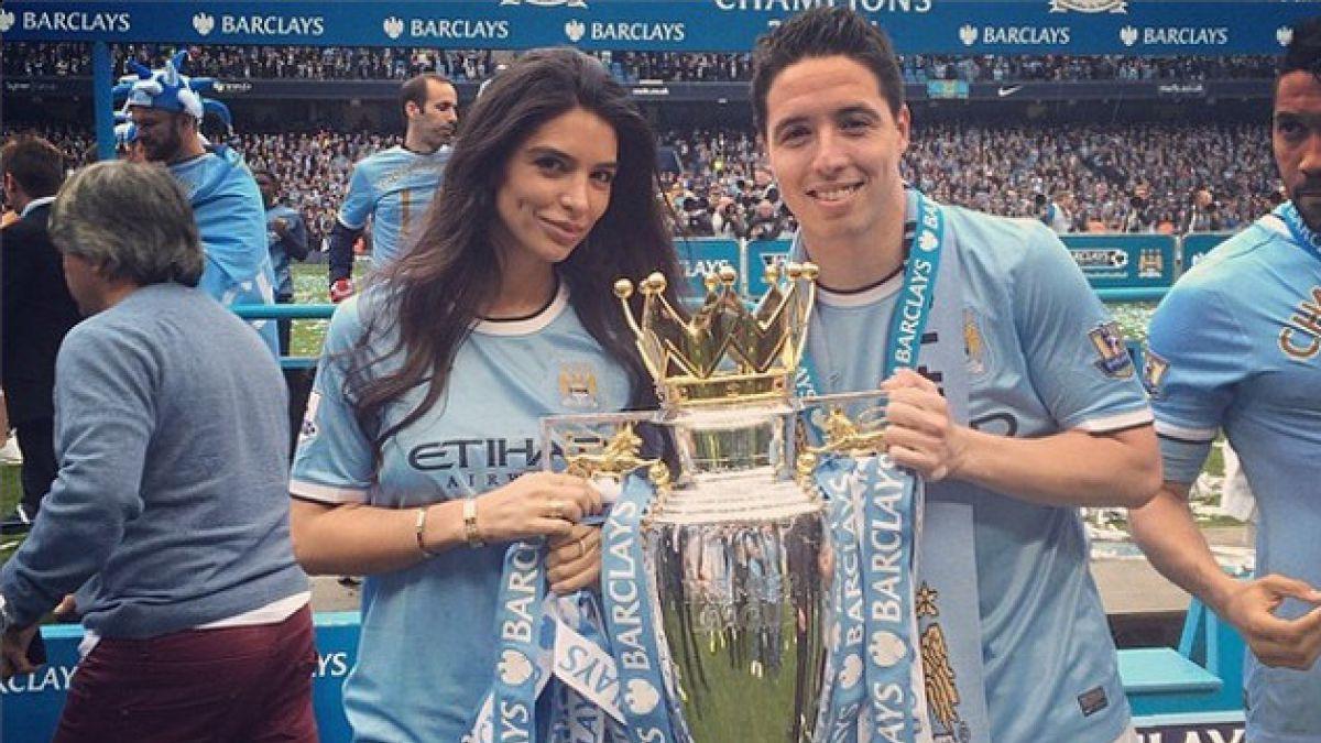Novia de estrella de Manchester City insulta a director técnico de Francia