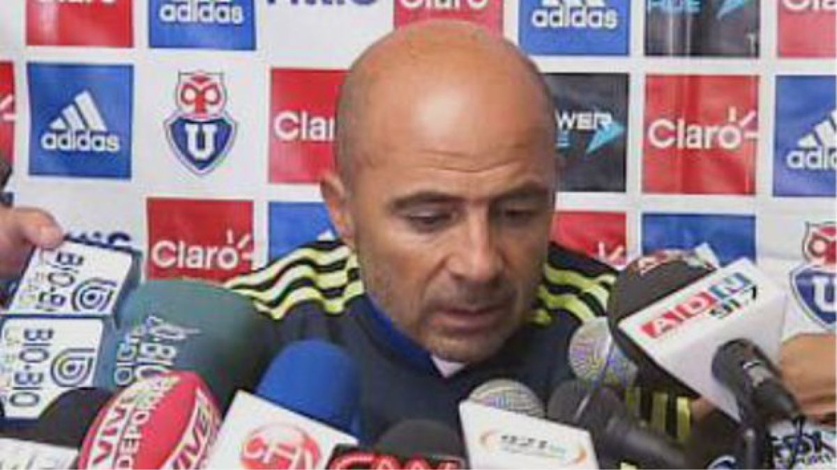 Jorge Sampaoli se queda en Universidad de Chile