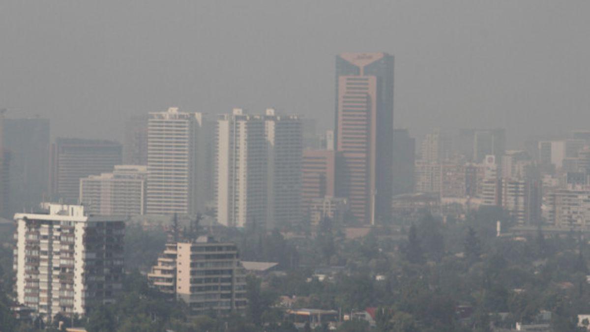 Intendencia Metropolitana decreta alerta ambiental preventiva este martes