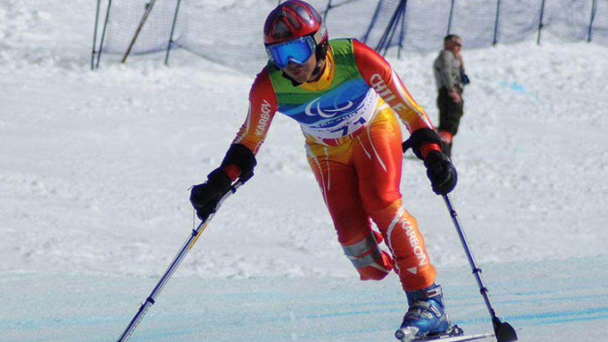 Chileno de 16 años debuta en Juegos Paralímpicos de invierno