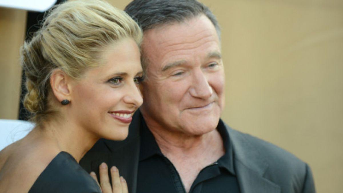 El emotivo adiós de la actriz Sarah Michelle Gellar a Robin Williams