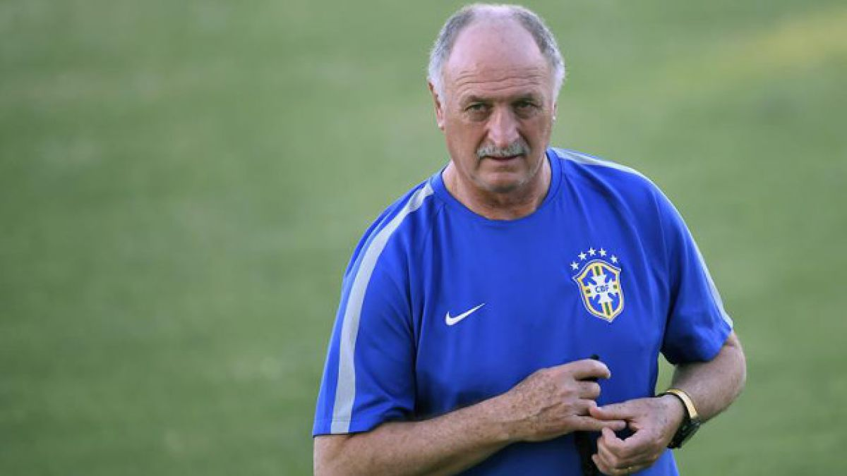 """Scolari ad portas de cuartos de final: """"Colombia es mucho mejor"""" que Chile"""