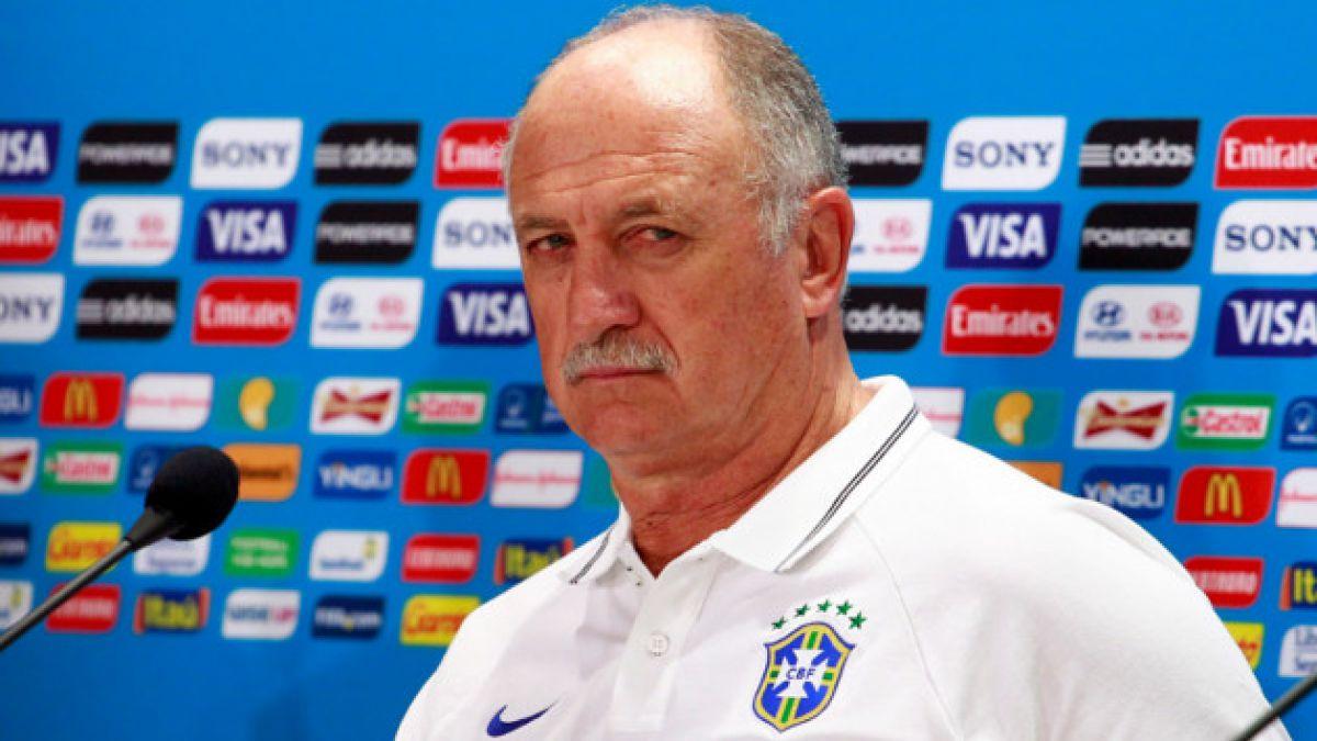 """Scolari por duelo con Chile: """"Los que tienen que proponer, hacer el juego y ganar somos nosotros"""""""