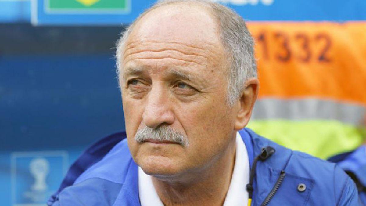 Scolari deja de ser el DT de Brasil tras mal desempeño en el Mundial