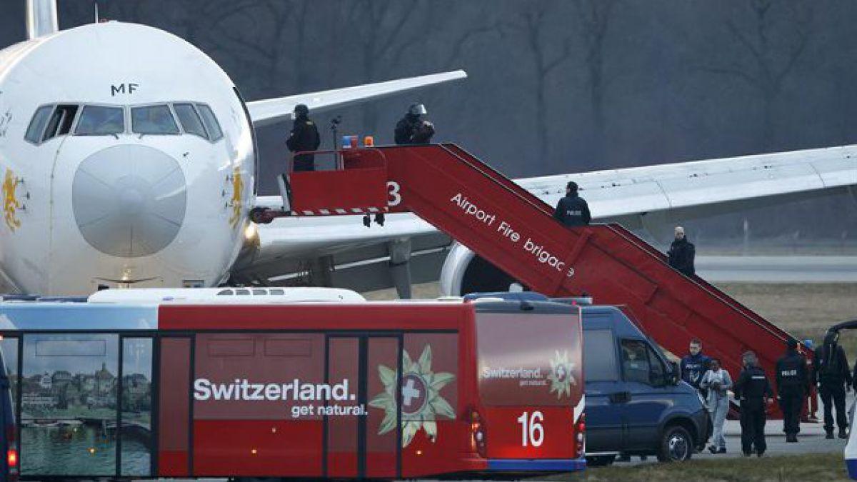 Secuestran avión etíope que se dirigía a Roma