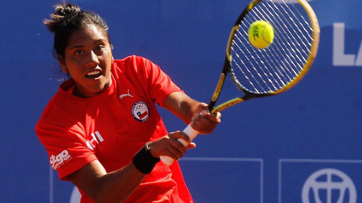 Daniela Seguel cayó en la primera ronda del cuadro de dobles en Wimbledon