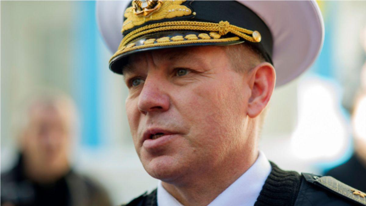 Ucrania da ultimátum a fuerzas de Crimea para que liberen a jefe de la Armada