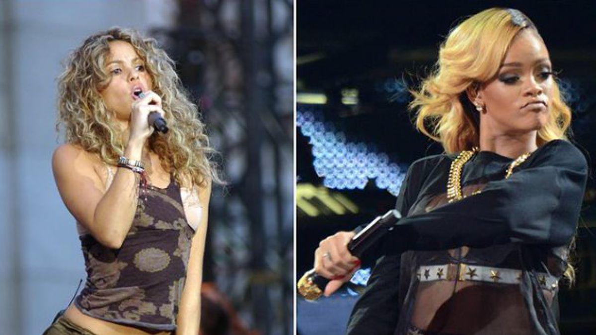 Dúo de Shakira con Rihanna ya es todo un éxito de ventas