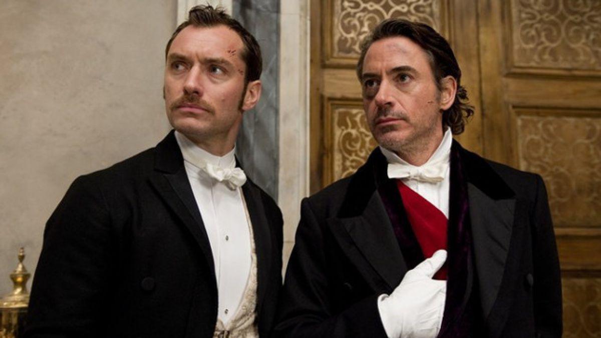 "Confirman tercera parte de ""Sherlock Holmes"""