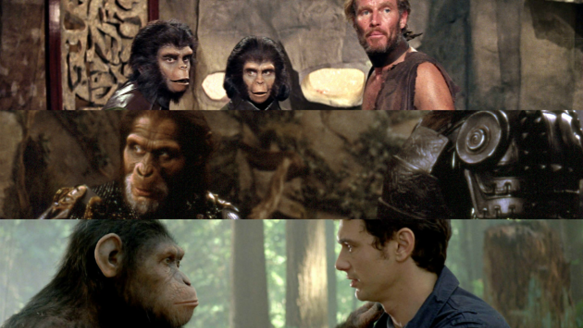 """La evolución de """"El Planeta de los Simios"""" desde 1968 a la fecha en el cine"""
