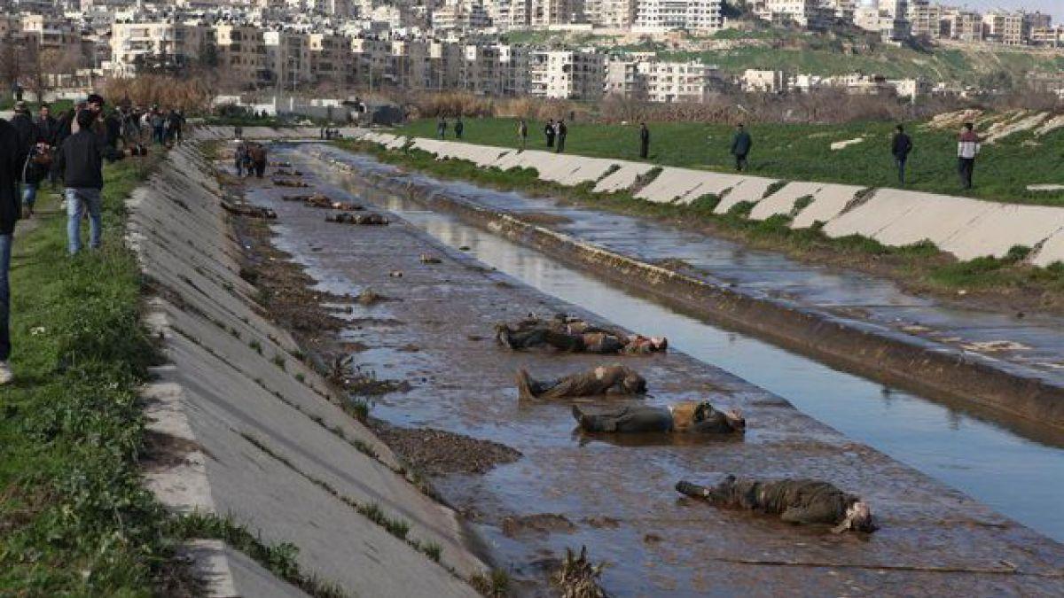 Siria: Impacto por hallazgo de más de 100 cadáveres en un río