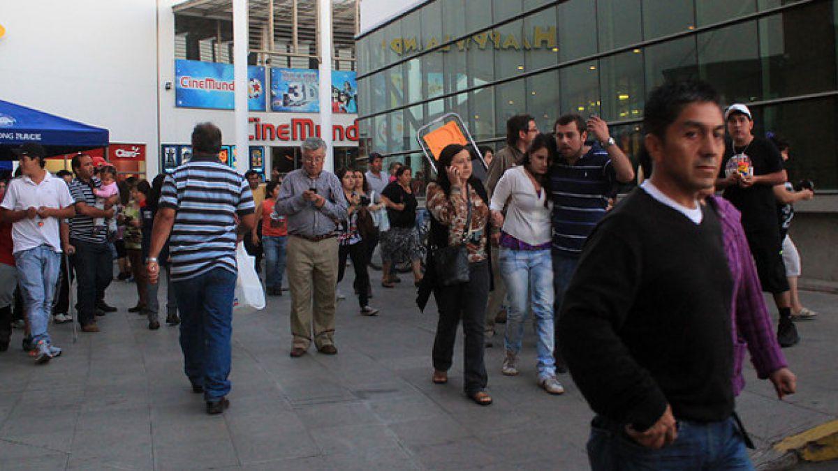 Sismo de menor intensidad se registra en regiones de Antofagasta y Atacama