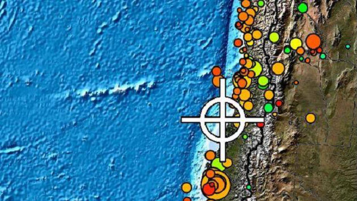 Fuerte sismo afectó a la zona central del país