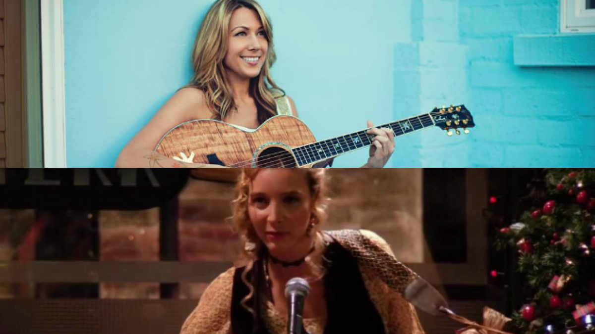 "[VIDEO] 20 años de Friends: Colbie Caillat canta ""Smelly Cat"" en el Central Perk"