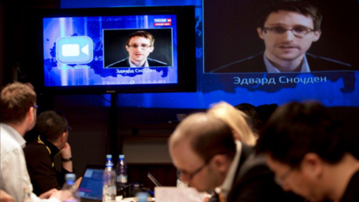 Edward Snowden reaparece en TV para hacer pregunta a Vladimir Putin