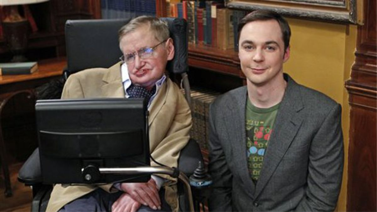Stephen Hawking aparece en episodio de la serie The Big Bang Theory