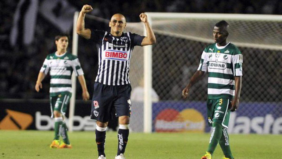 Chupete se convirtió en goleador histórico del Monterrey