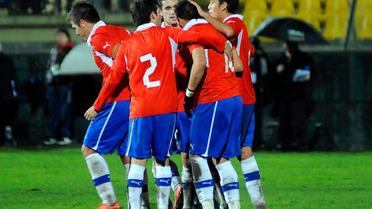 La Selección chilena sub 20 cayó por goleada ante Francia