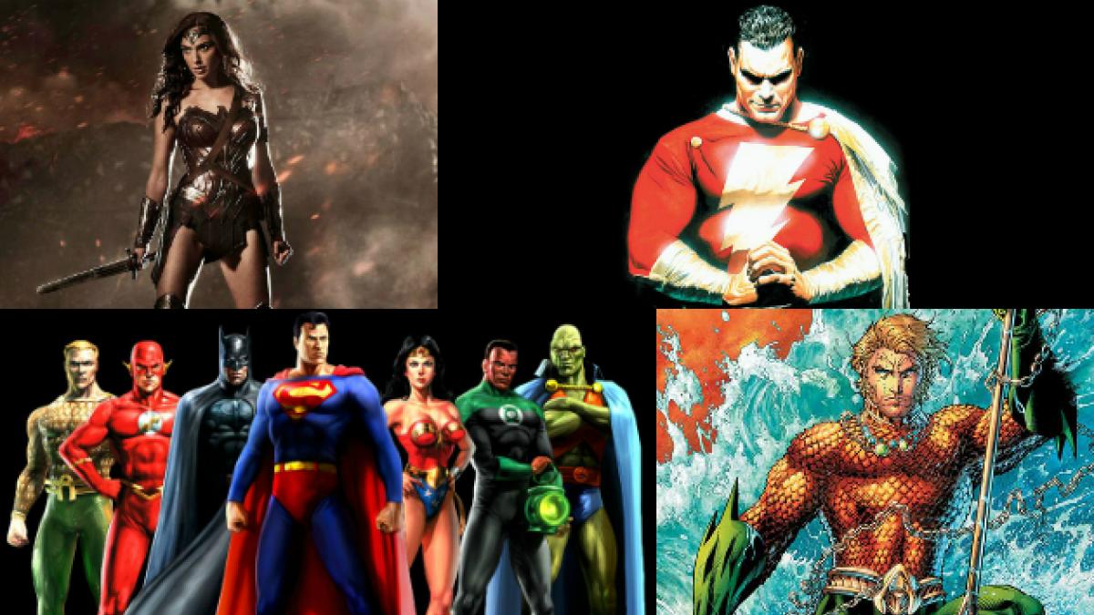 Las 9 películas que Warner y DC Comics lanzarían tras Batman v Superman