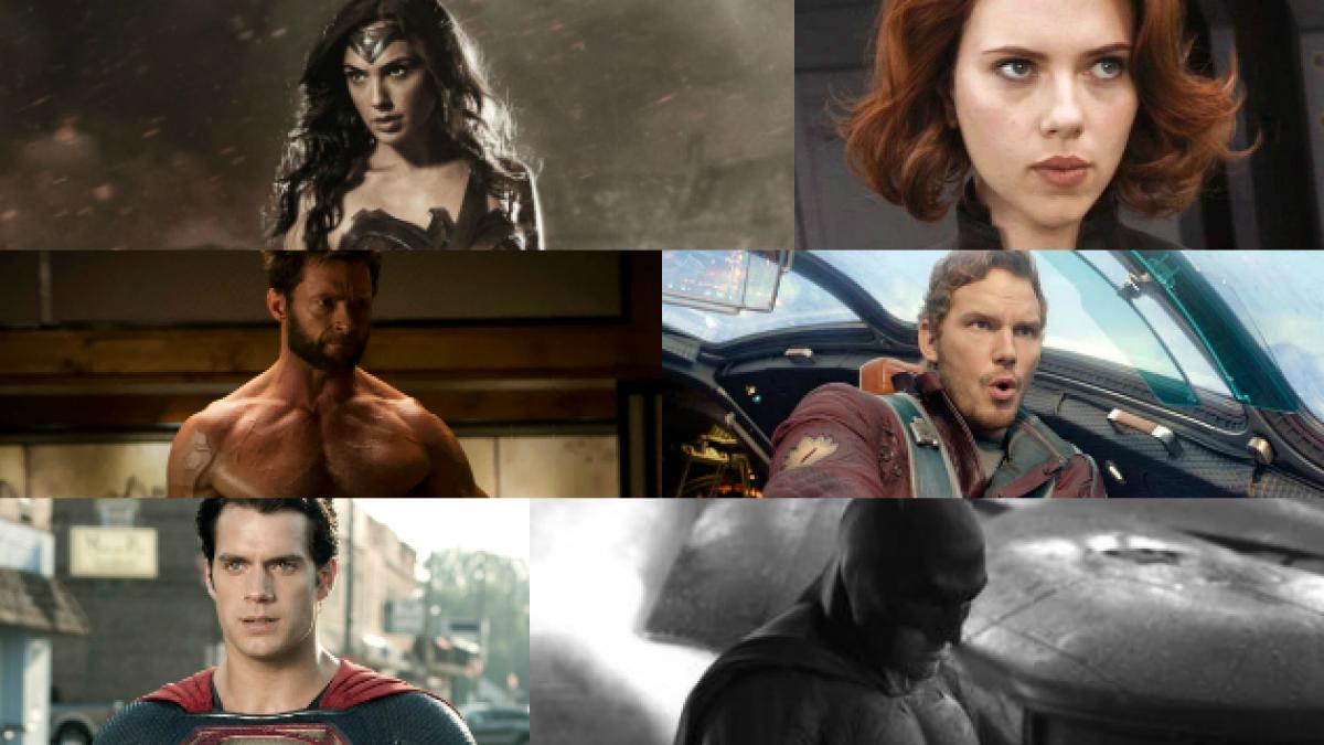 Desde Batman a Wolverine: Estrenarán 30 películas de superhéroes en los próximos 6 años
