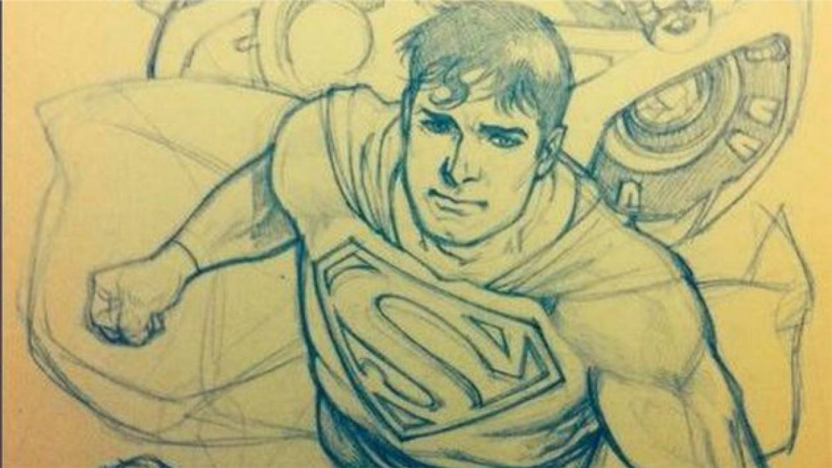 DC Comics escoge a chileno para dibujar Superman