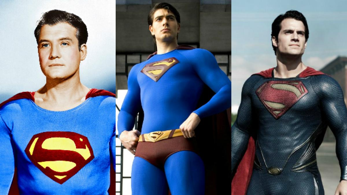 [FOTOS] La evolución que ha tenido el traje de Superman en cine y televisión