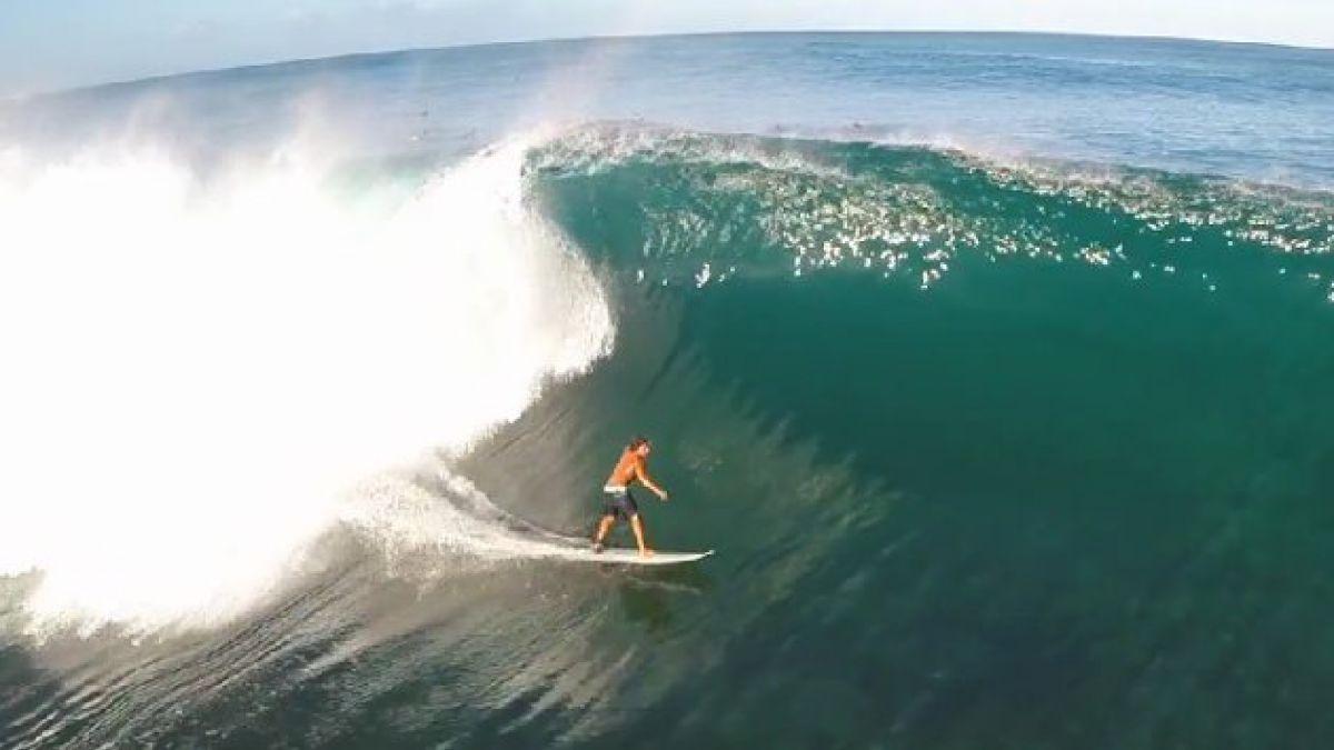Recopilan las mejores imágenes de surfistas en Hawaii
