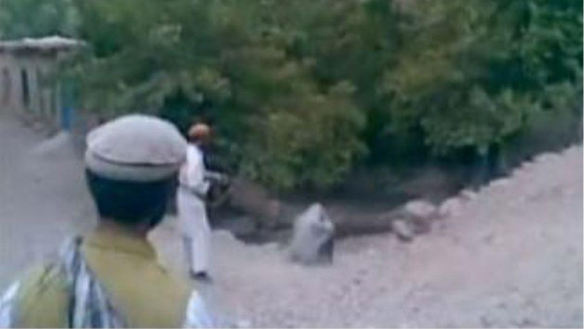 Polémica por video de ejecución de mujer afgana