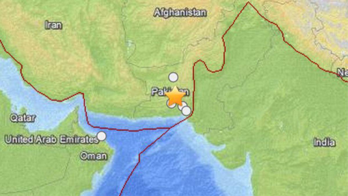 Fuerte sismo sacudió el sudoeste de Pakistán