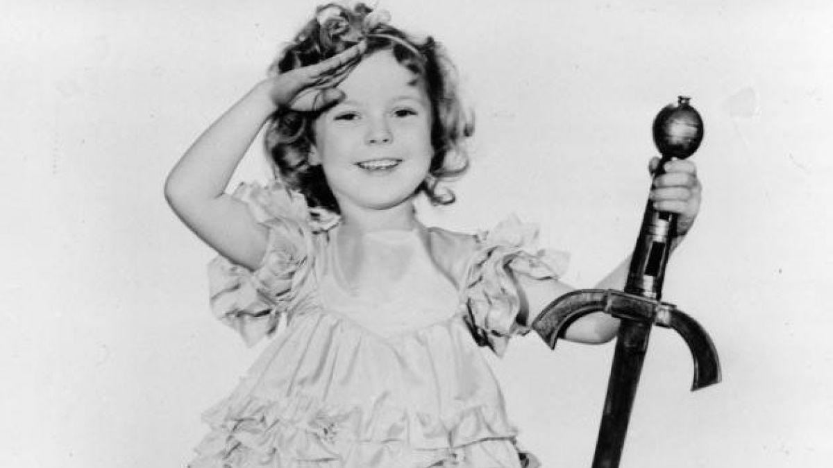 Estrellas recuerdan a Shirley Temple en Twitter