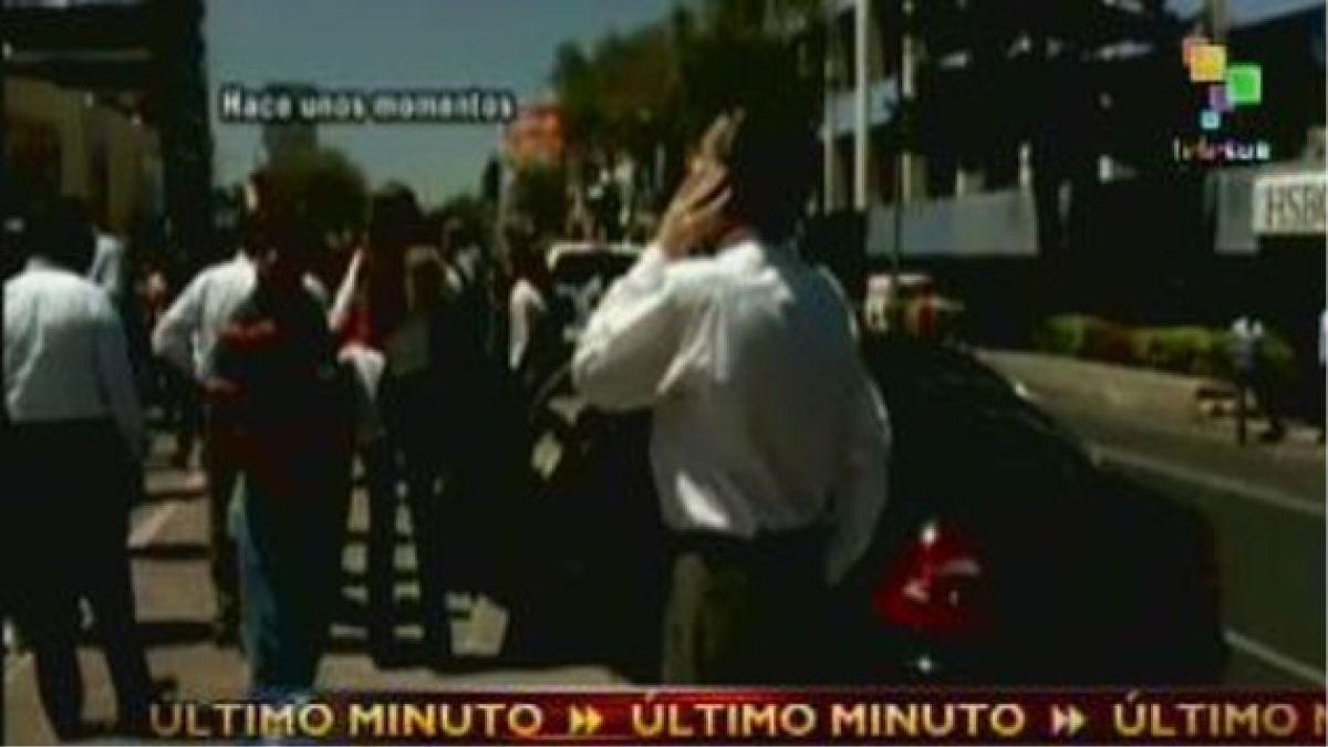 SHOA descarta alerta de tsunami en Chile por terremoto en México