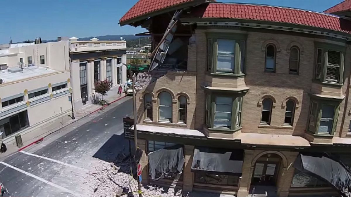 [VIDEO] Drones y sistema de alarma al servicio de California post terremoto