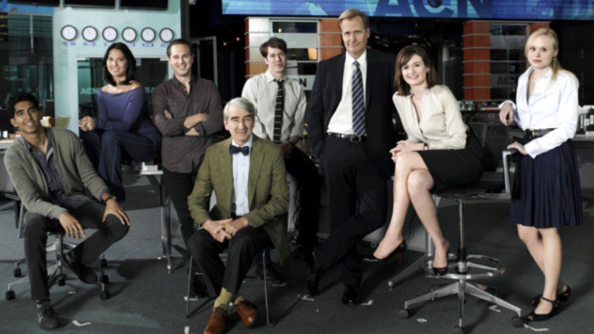 """En noviembre se estrena la última temporada de """"The Newsroom"""""""
