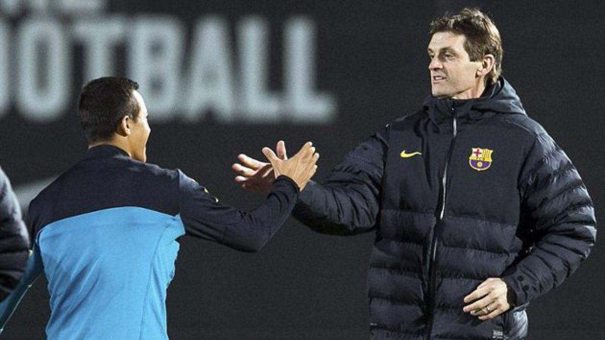 Tito Vilanova volvió a dirigir al Barcelona