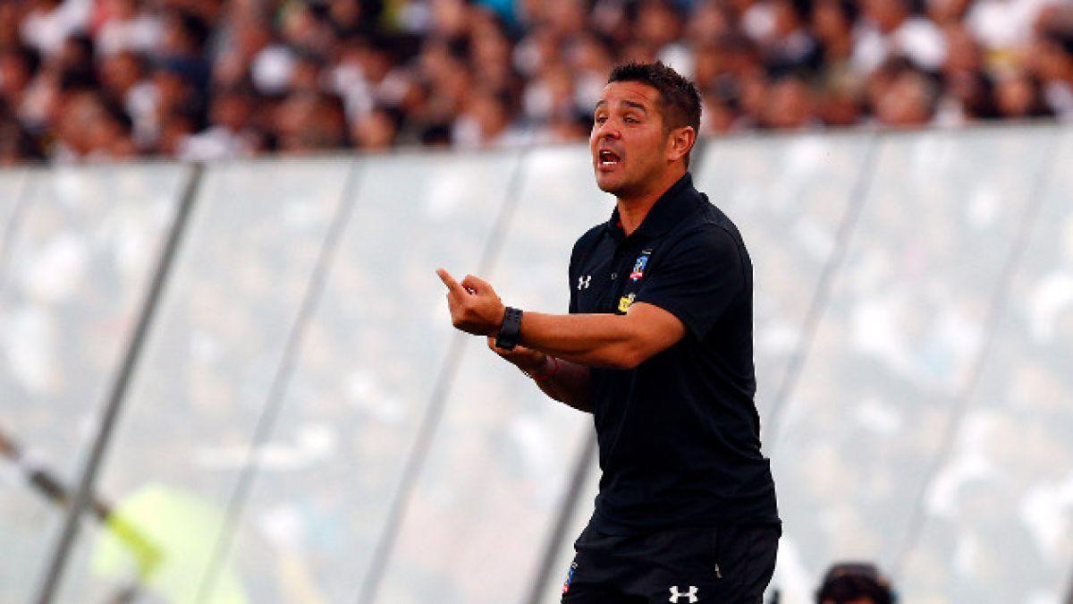 """Héctor Tapia: """"Si nos sancionan, tienen que hacerlo con todos los equipos donde aparecen bengalas"""""""