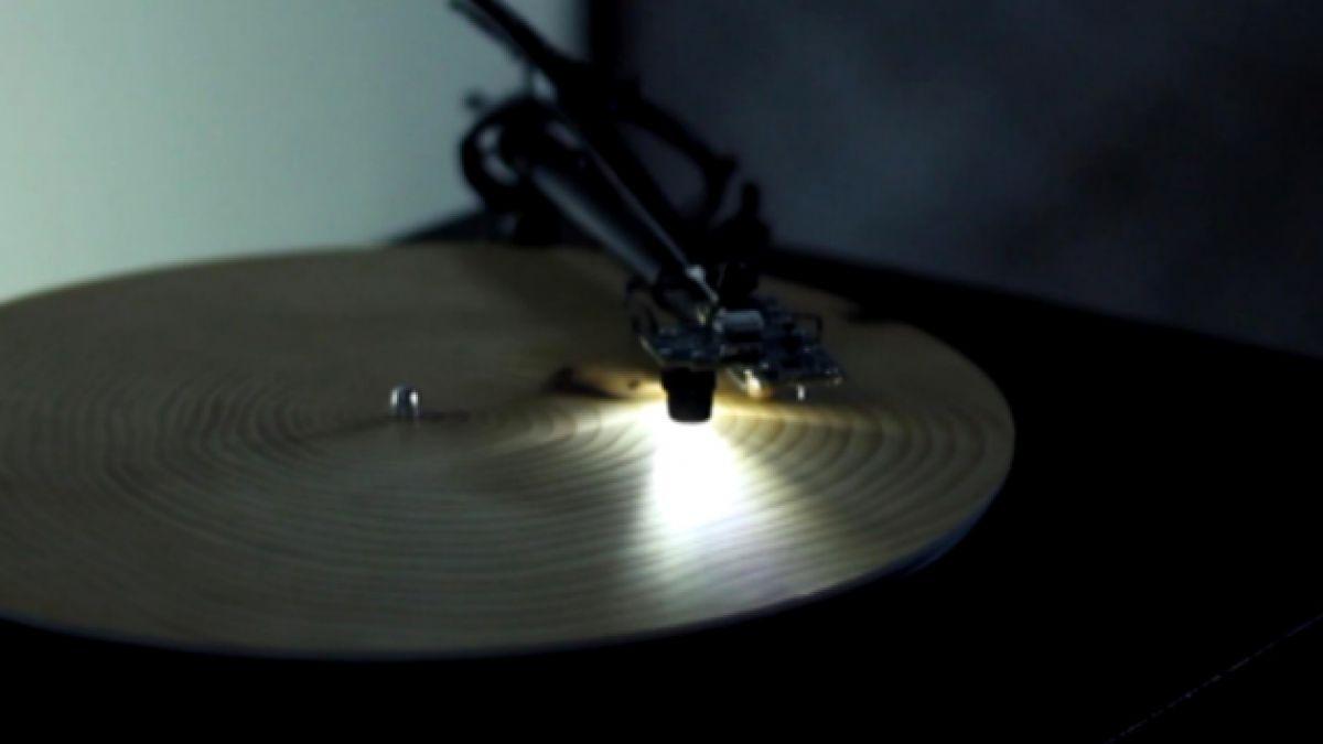 [VIDEO] Así es como suenan los años de un árbol en un toca discos