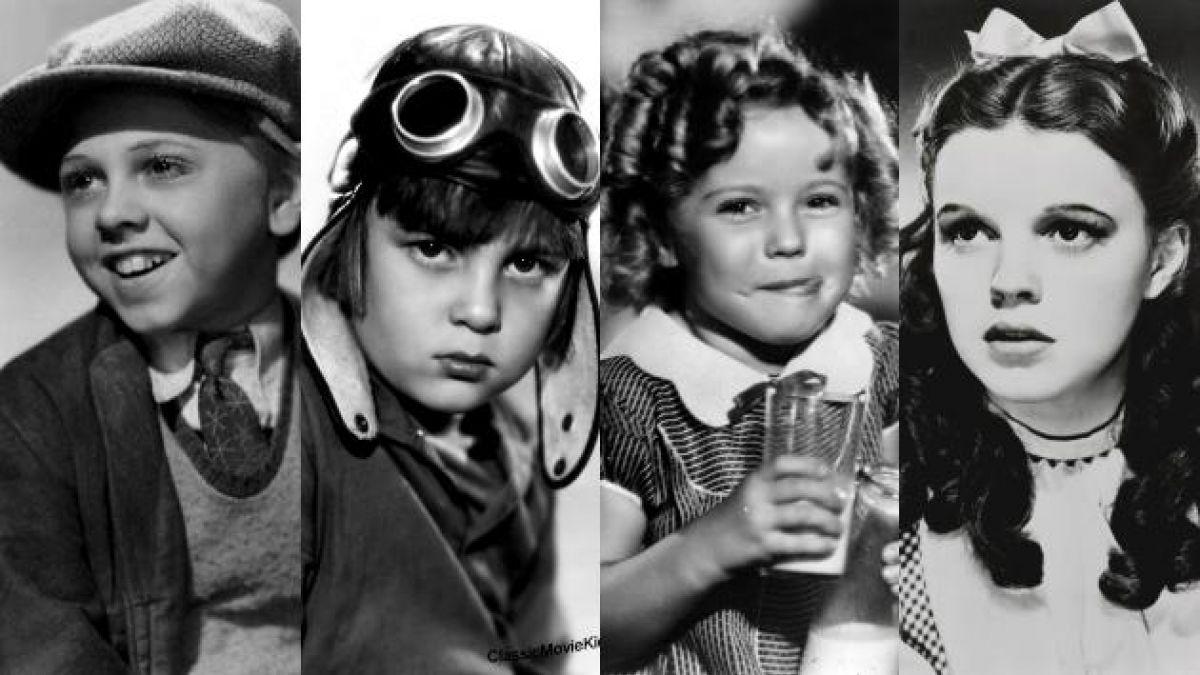 Los niños de oro de Hollywood que ya no están