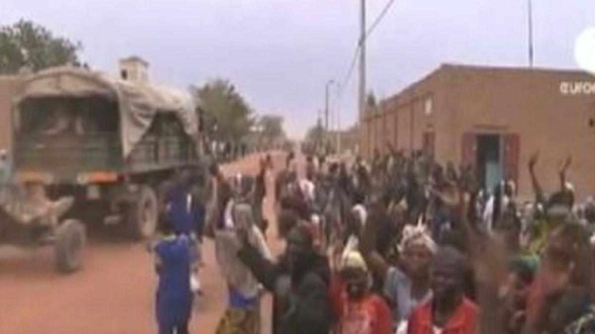 Militares franceses toman control de Tombuctú