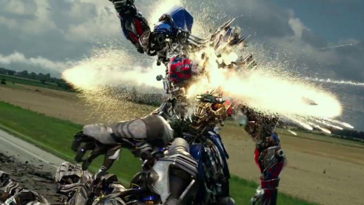 """[VIDEO] El nuevo trailer de """"Transformers: La era de la extinción"""""""