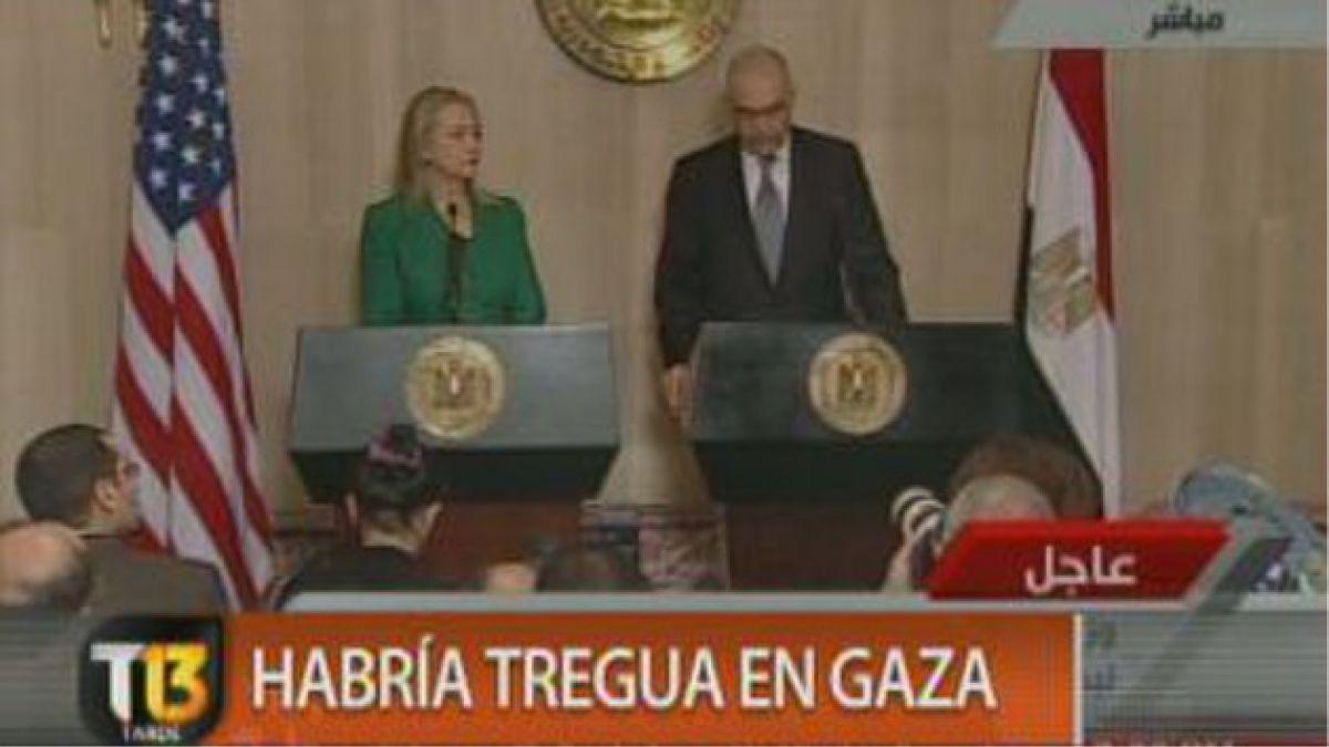 Egipto anuncia tregua entre Israel y Hamas