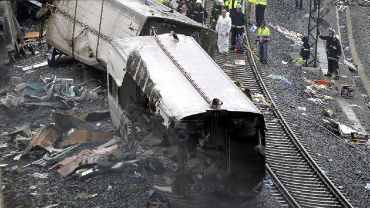 Maquinista de tren descarrilado en España declarará como imputado