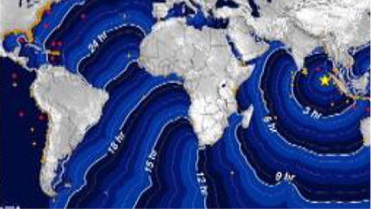 SHOA descarta riesgo de tsunami para Chile por terremoto en Sumatra